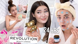 I ONLY USED REVOLUTION PRODUCTS FOR 24 HOURS...