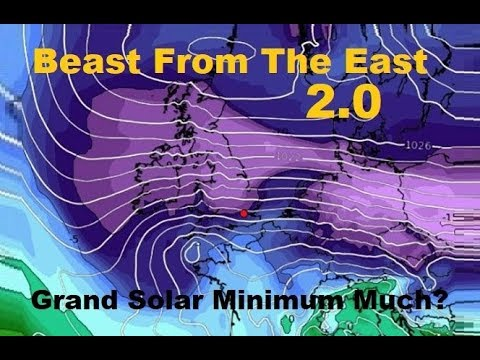 GSM Update 3/18/18 - Beast From The East 2.0 - Widespread Hail - Electromagnetic Pulse Preparedness