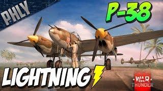 War Thunder - Lightning In The SKY! P-38 Lightning Gameplay