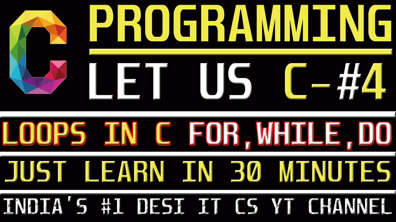 C programming tutorial learn c programming loops in c language c programming tutorial learn c programming loops in c language while for dowhile baditri Gallery