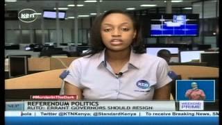 REFERENDUM POLITICS: Raila Odinga leads CORD Coalition to Coastal Kenya for Referendum campaigns