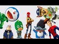 Cartoon Games for Kids Funny Wrong Heads videos Collection PJ Masks Spider-Man Paw Patrol Toy Story