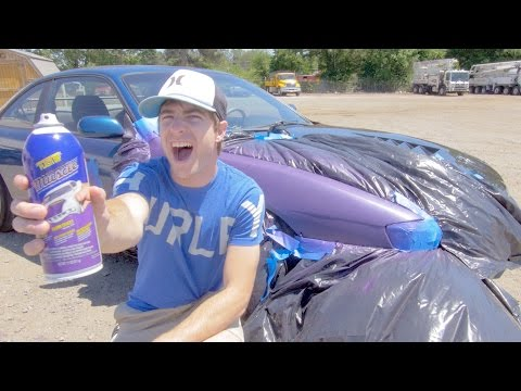 How to Plastidip a Car With Spray Cans!