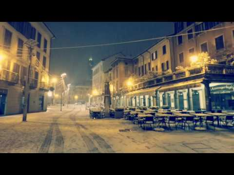 """First snow of 2017 in a magical city - """"Lecco - That Thursday night"""""""