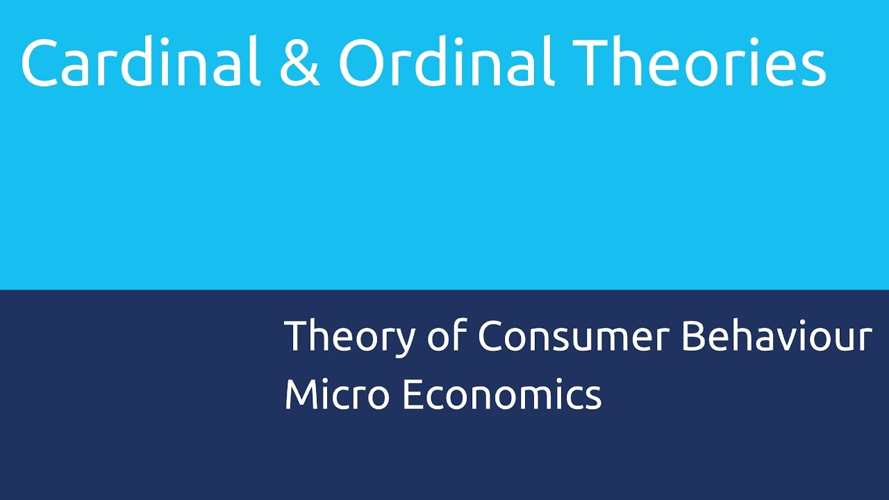show that the consumer equilibrium under cardinal and ordinal utility theory are identical Long story short, in ordinal utility theory consumer attain an equilibrium consumption basket of goods when he satisfies the condition that he gets as much as he can given a set of preferences that mathematically translates into the equality between the indifference curve slope and the budget constraint sloped (assuming convexity on the former.