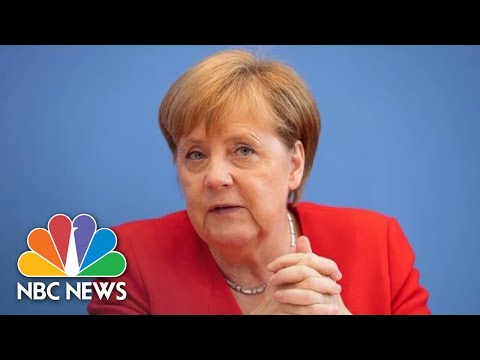 Merkel On Trump's 'Go Back:' 'This Is Something That Contradicts The Strength Of America' | NBC News