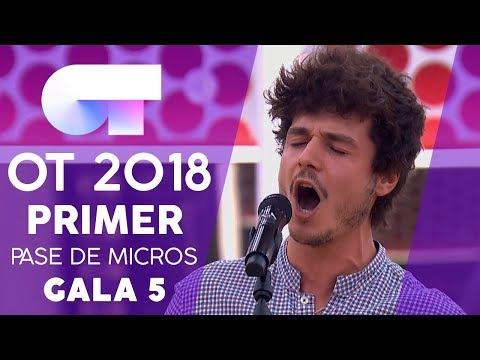 'EL PATIO' - MIKI | Primer pase de micros Gala 5 | OT 2018