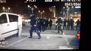 Protestatari batuti fara mila !!! ( 10 august 2018 )