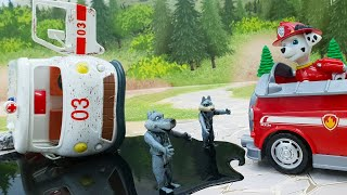 Щенячий Патруль Мегащенки самая новая серия. Игрушечный мультик для детей про машинки и дружбу.