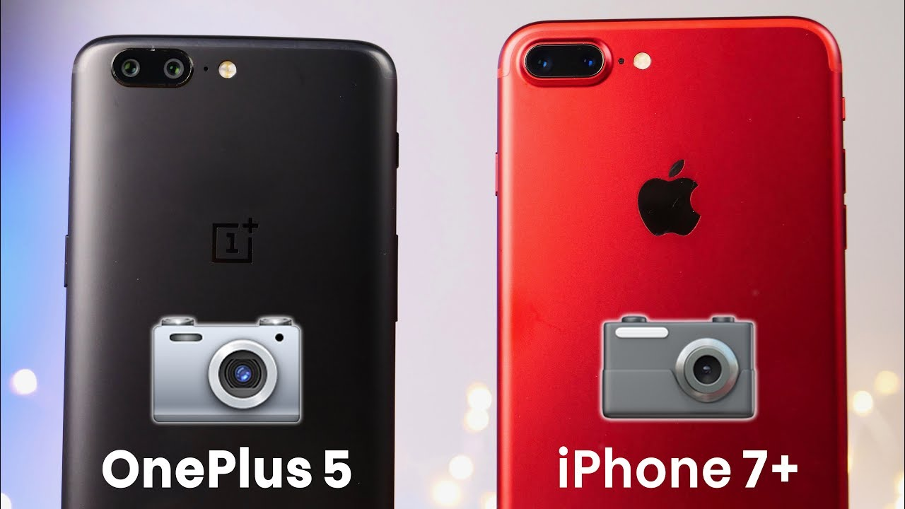 Oneplus 5 Vs Iphone 7 Camera
