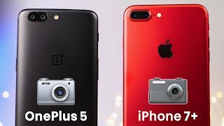 OnePlus 5 vs iPhone 7 Plus Camera Test