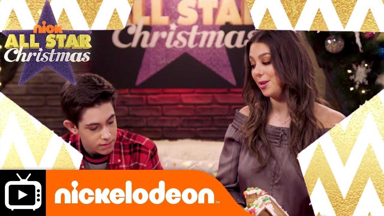 All Star Christmas Gingerbread House Nickelodeon Uk