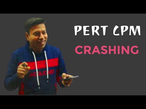 PERT CPM CRASHING Lec 1.1