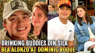 NAG INUMAN Bea Alonzo Dominic Roque DRINKING BUDDIES din Cuddle Weather sa America