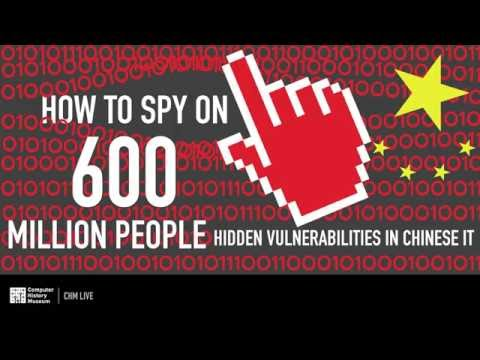 CHM Live │ How to Spy on 600 Million People: Hidden Vulnerabilities in Chinese IT