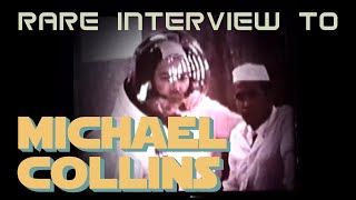 Michael Collins rare interview - Prior to moon landing - Space Exploration History