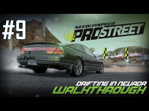 Need for Speed: ProStreet (PC) | Walkthrough Part #9 - Drifting in Nevada [HD 60FPS]