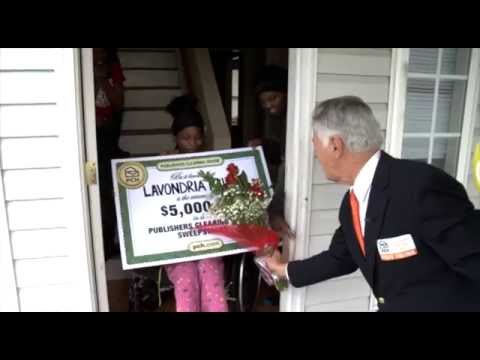 Publishers Clearing House Winners: Lavondria Fallie From Charlotte, North  Carolina Wins $5,000