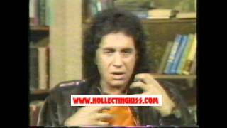 KISS Gene Simmons Good Morning America Trick Or Treat 1986