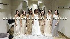 bridesmaids dress shopping | bhldn