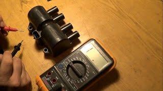 видео Проверка и замена катушки зажигания
