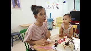 THAT'S HOW Beautiful Mom's Birthday Going On With Her Cute Baby   ỐC Family