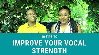 10 Ways / Singing Techniques to Improve your Voice and Vocal Strength   Sing Better