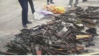 Congo rebels pledge to disarmament program