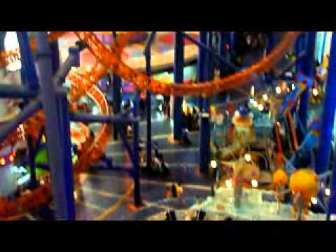 The Largest Roller Coaster Inside Shopping Mall in TimeSquare KL