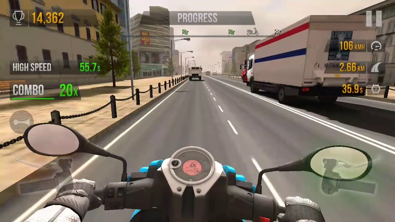 Traffic Rider Android Ios Gameplay Bike Racing Games