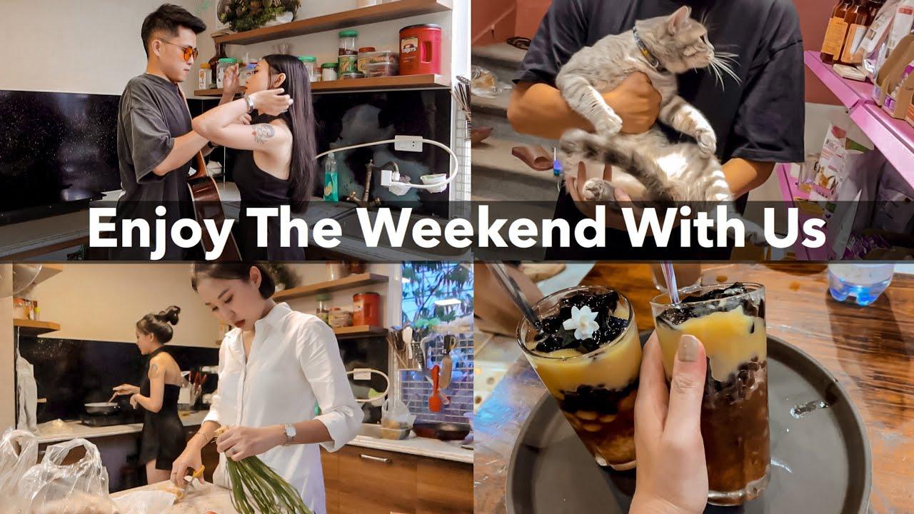 Daily Vlog | Hà Nội Nóng Rồi Cho Em Mèo Đi Cắt Tóc Thôi – Cuối Tuần Nhẹ Nhàng Của Chúng Mình