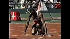 1988 Olympics Men's 400m Hurdles Final, Seoul, South Korea