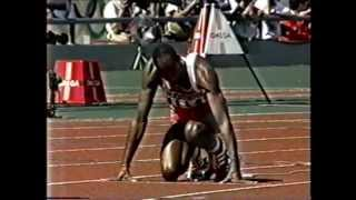 1988 Olympics Men's 400m Hurdles Final, Seoul, South Korea