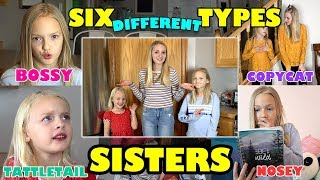 Video Which Type of Sister Are You!? BOSSY, COPYCAT, TATTLETAIL... (Jaidyn, Lyla & Sophie) download MP3, 3GP, MP4, WEBM, AVI, FLV November 2018