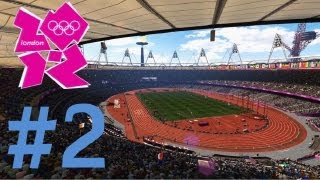 London 2012: The Official Video Game of the Olympic Games - Walkthrough Part 2 - Day 2