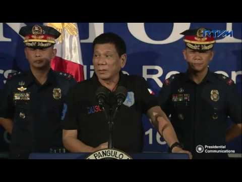 Talk to Men of the Philippine National Police – Police Regional Office 13 10/06/2016