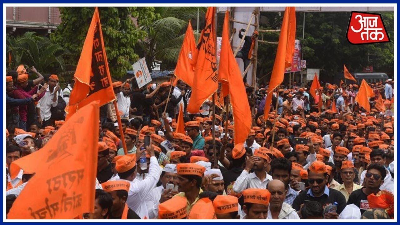 Maratha Kranti Morcha Holds Silent Protest March In Mumbai