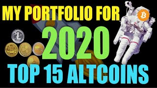 Top 15 Coins To Watch in 2020 - Altcoins in My Portfolio