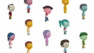 New avatar customization and animation test