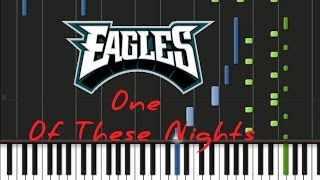Eagles - One of These Nights Synthesia Tutorial