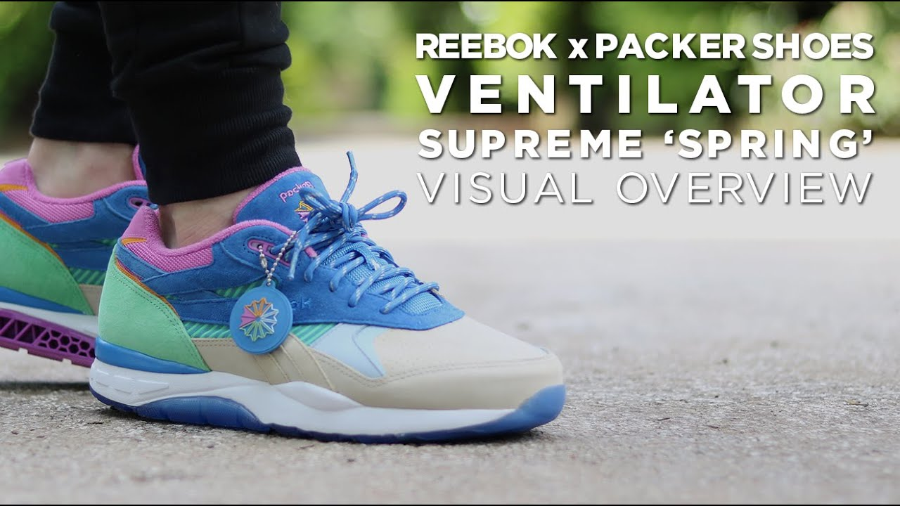 Packer Shoes x Ventilator Supreme  Spring  - Visual Overview - YouTube 9ca9c82d7