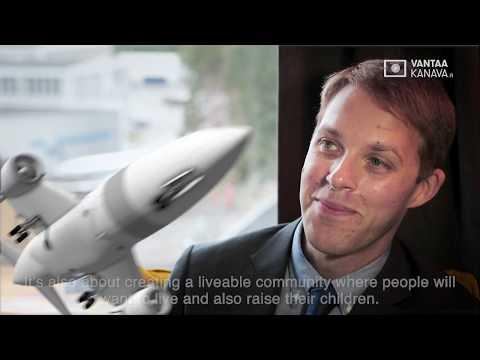 How Can We Build Attractive Neigborhoods Around Helsinki Airport? Max Hirsh Interview