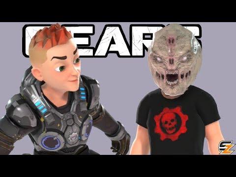 NEW GEARS OF WAR XBOX AVATAR SKINS! - Gears of War Xbox One X New Avatar Update!