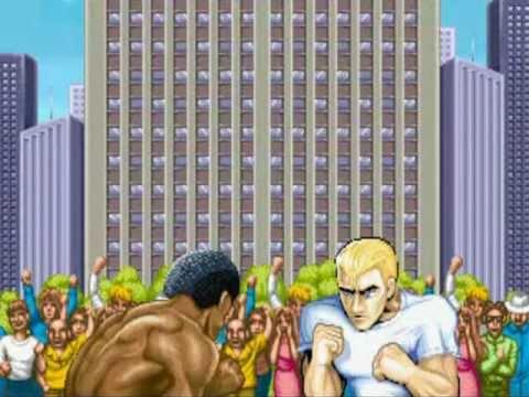 Street Fighter 2 Ii Arcade Machine Demo Start Screen Old School