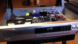 Marantz CD player repair of No disc error