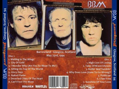 BBM- Bruce, Moore, Baker- Barrowlands, Glasgow, Scotland 5/23/94