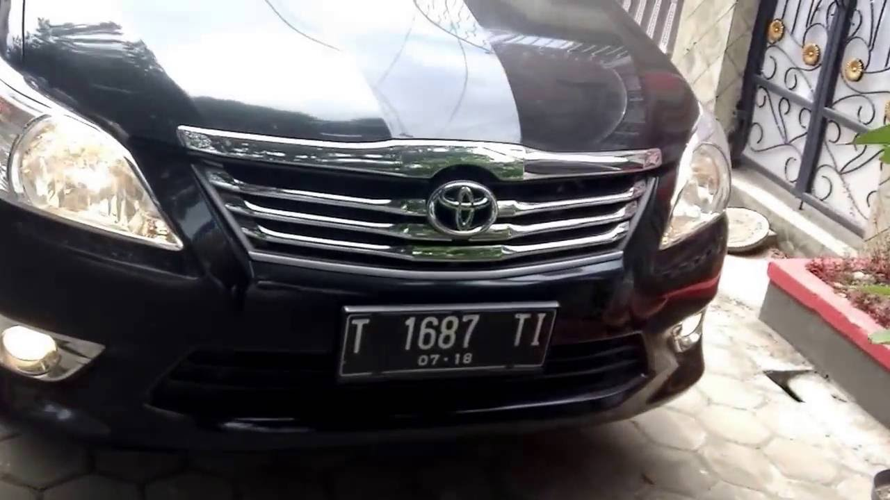 2013 Toyota Kijang Innova 2 0g Bensin Car Tour Start Up Youtube