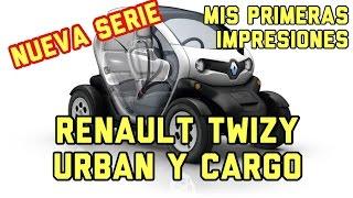 Renault Twizy Cargo 80 2016 Mis primeras impresiones #1