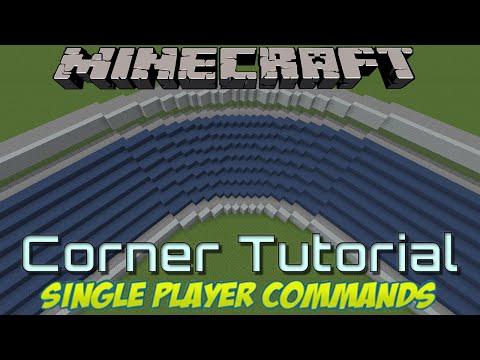 Minecraft Tutorial - Advanced Stadium Corners