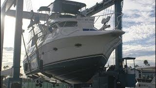 Silverton 453 Motor Yacht Hull Inspection by South Mountain Yachts